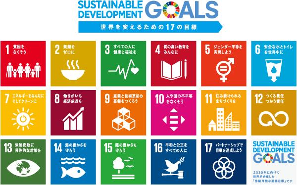 Web活用でビジネス革新に貢献する企業としてSDGs(持続可能な開発目標)に取り組みます