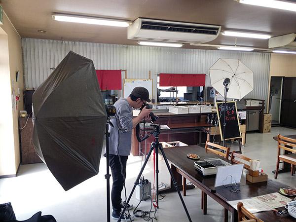 プロカメラマンによる午前の写真撮影