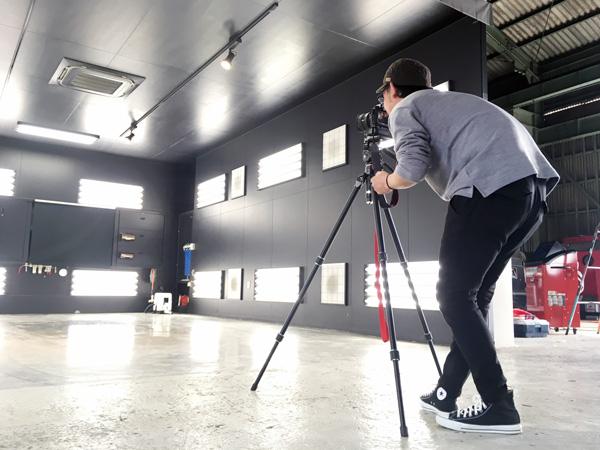 プロカメラマンによる午後の写真撮影