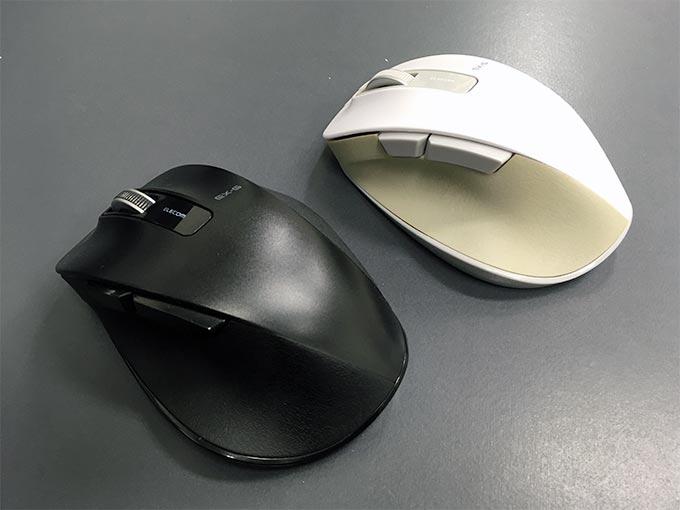 エレコム ワイヤレスマウス 無線 2.4GHz 5ボタン BlueLED Lサイズ 握りの極み M-XGM10DB