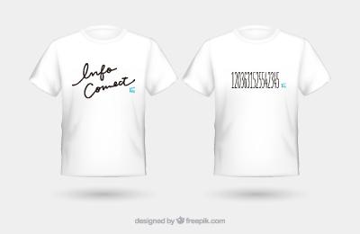 インフォコネクトオリジナルTシャツ制作