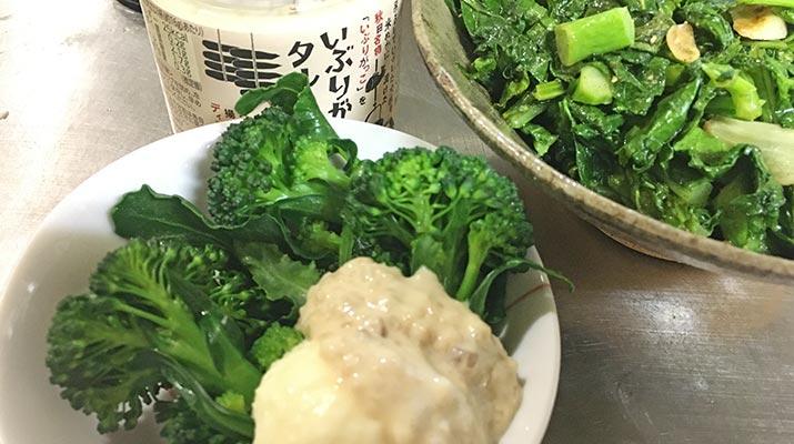 いつも社長からいただく美味しい野菜を使ってレシピブログやってみた【ブロッコリー&菜花編】