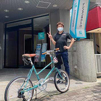 サイクルハウスミヤタからミニベロ(BRUNO MIXTE F)がやってきた!