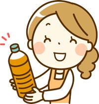 ぎゅーとら小俣店限定イベント!毎月第4土曜日に使用済み天ぷら油をリサイクルしてエコ・アクション・ポイントをもらっちゃおう