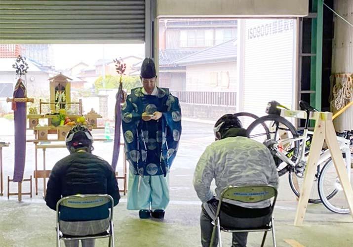 伊勢志摩エリアのサイクリストに朗報!松阪市にバイシクルピット開設【大徳建設株式会社】