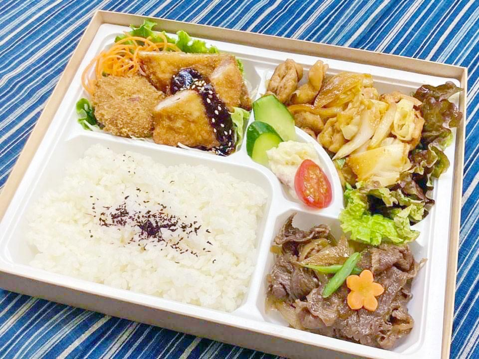 松阪牛+松阪豚+松阪鶏焼き肉=松阪ドリーム弁当で夢のコラボが実現【焼肉野崎・まつぶた・地鶏屋】