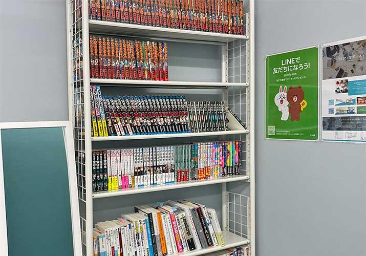 インフォコネクト図書館~番外編~:2階に本棚がやってきたの巻