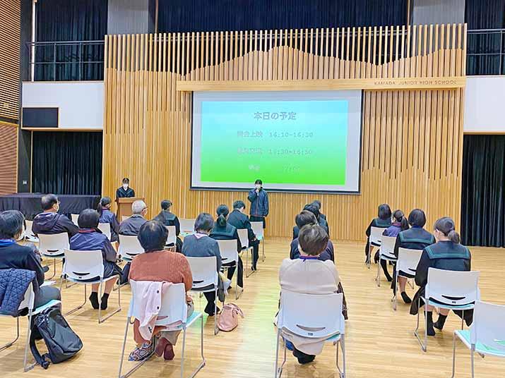 鎌田中学校の人権サークルが毎月11日にコロナ差別解消の啓蒙活動実施【ベルクローバー】