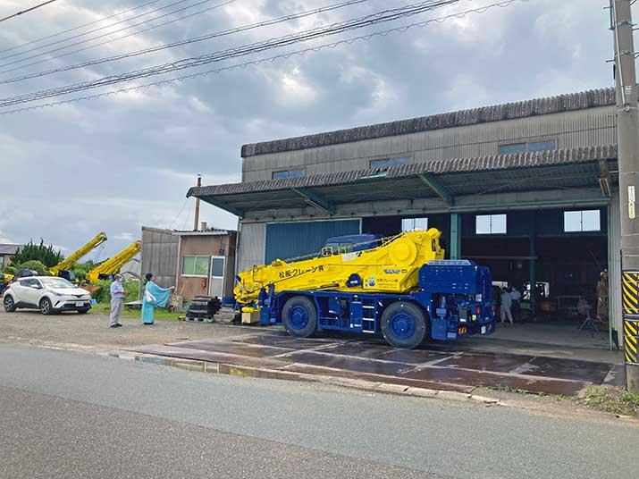 松阪クレーン株式会社様の納車式を取材させていただきました♪